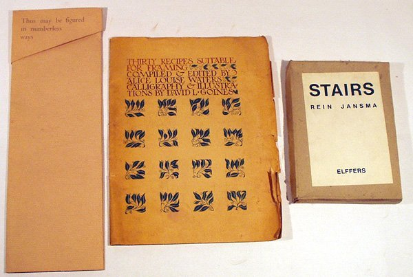 3035: 3V Recipes Stairs DESIGN SMALL PRESS Prints Etc