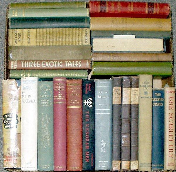 4011: Guedalla Hobart LITERATURE Brooks Galsworthy