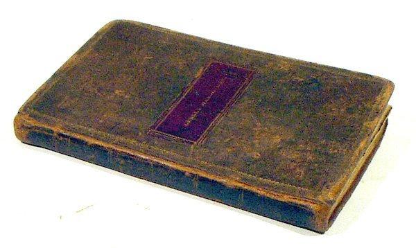 4198: Cobb PRONOUNCING ENGLISH 1821 Rare 1st Ed Ithaca