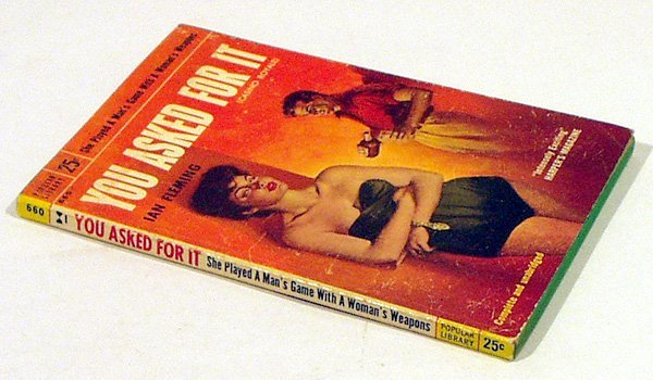 5002: Fleming YOU ASKED FOR IT 1955 Casino Rare Bond