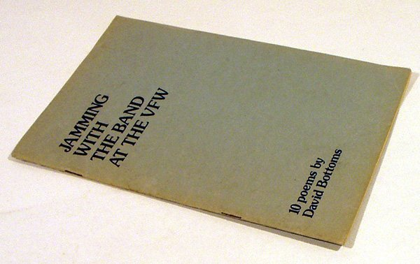 5017: Bottoms JAMMING WITH THE BAND 1978 Rare Chapbook