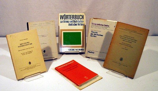 9018: 6V German Syntax LINGUISTICS German Verbs Stress