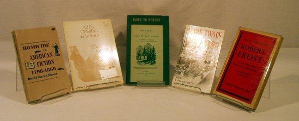 8018: 5V Twain Walden LITERARY STUDIES Ginsberg Frost