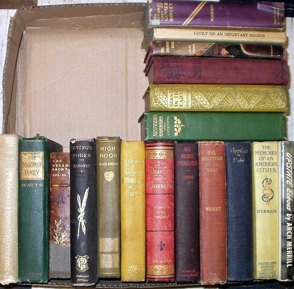 8022: Coolidge VINTAGE & ANTIQUE LITERATURE Merrick For