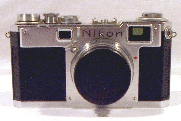 8094: Nikon S2 Rangefinder CAMERA 1961 Nikkor Lens