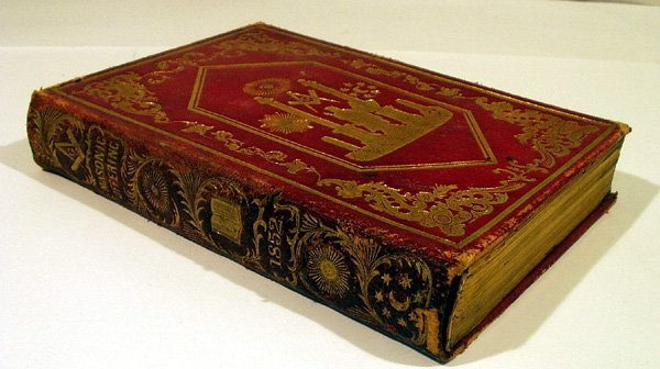 1002: Perry MASONIC OFFERING 1852 Freemasonry Fancy