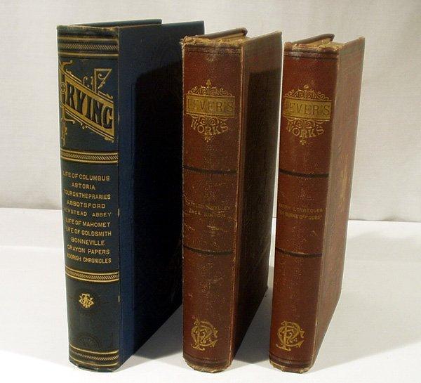 1005: 3V Lever DECORATIVE ANTIQUE LITERATURE Irving