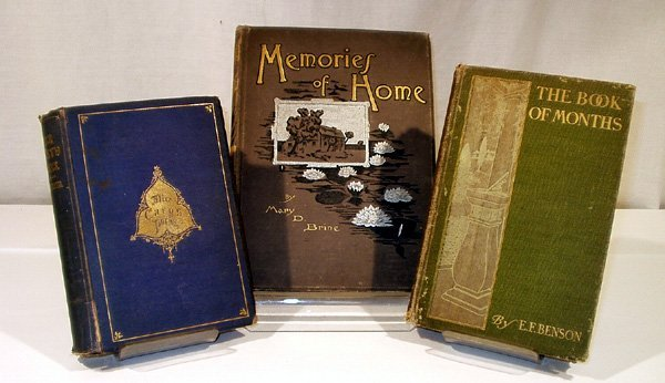 1011: 3V Alice Cary DECORATIVE ANTIQUE Book of Months