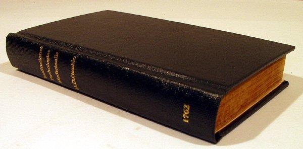 1235: Gaubi INSTITUTIONES PATHOLOGIAE 1762 Latin Medica