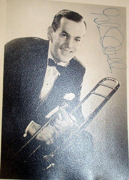 1349: GLENN MILLER Rare Hand Signed Photograph Big Band