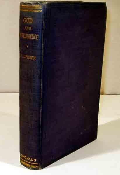 2001: Sheen GOD AND INTELLIGENCE 1925 St. Thomas 1st ed