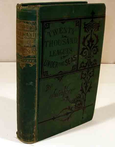 2002: Verne 20,000 LEAGUES UNDER THE SEA 1875 2nd US ed