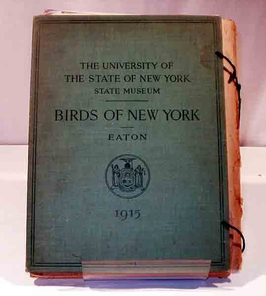 2018: Eaton BIRDS OF NEW YORK 1915 Complete 106 plates