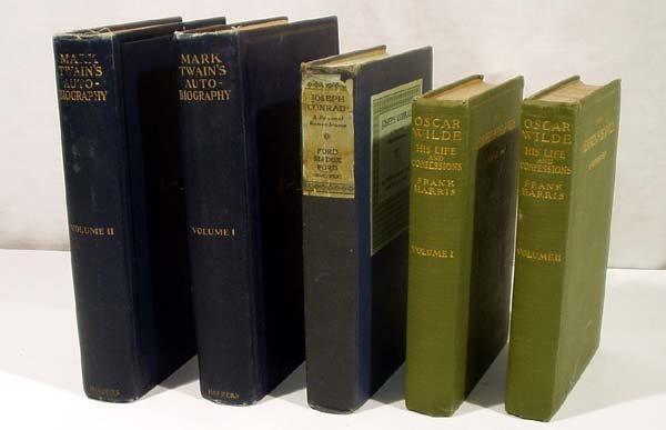 3006: 5V Conrad Twain ANTIQUE LITERARY BIOGRAPHY Wilde