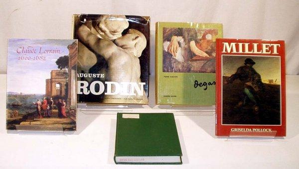 3007: 5V Rodin Degas Lorrain FRENCH ART Millet Medieval