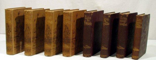 3009: 8V Martha Finley ELSIE'S BOOKS 1876-1890 Juvenile