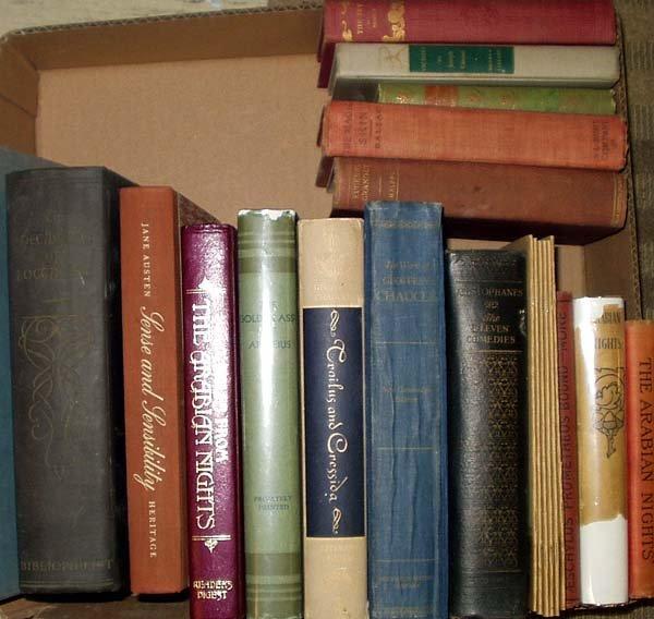 3014: Chaucer Baum LITERATURE Balzac Conrad Cooper