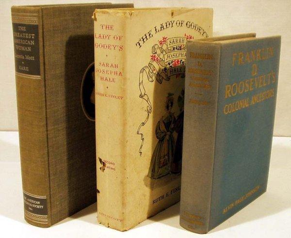 3015: 3V Hare Finley US HISTORY BIOGRAPHY Jonnson Mott