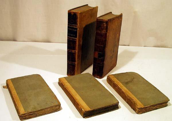4006: 5V Coleridge Homer ANTIQUE LITERATURE Johnson Set
