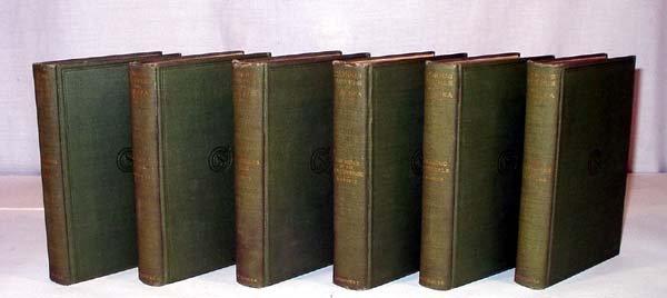 4010: 6V FAMOUS NOVELS OF THE SEA 1899/1902 Complete