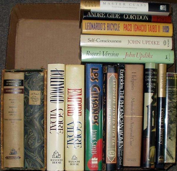 4019: Vidal Sayles Helprin LITERATURE Updike Gide Taibo