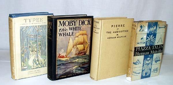 4020: 4V Typee Moby Dick HERMAN MELVILLE Pierre Piazza