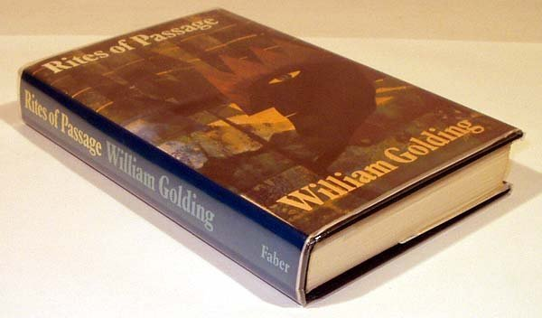 6009: Golding Rites of Passage 1980 Inscribed Booker