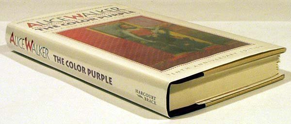 8012: Walker THE COLOR PURPLE 1992 Signed Anniversary E