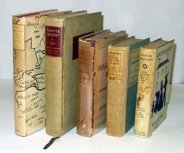 8013: 5V Thirties US LITERATURE Twenties Marquand Letts
