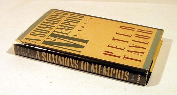 8016: Taylor A SUMMONS TO MEMPHIS 1986 Inscribed First