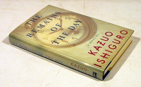 8018: Ishiguro REMAINS OF THE DAY 1989 Inscribed First
