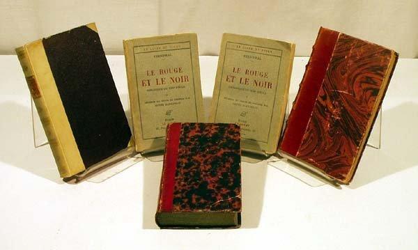 8019: 5V Stendhal FRENCH LITERATURE La Fontaine Le Sage