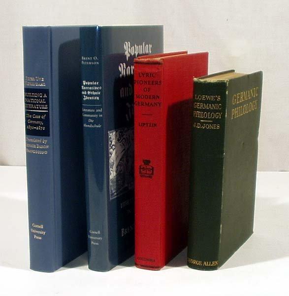 8021: 4V Poetry GERMAN LITERARY STUDIES Philology Ethni