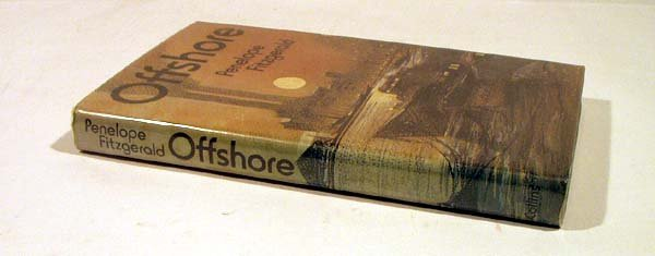 8024: Fitzgerald OFFSHORE 1979 Signed First Booker Priz