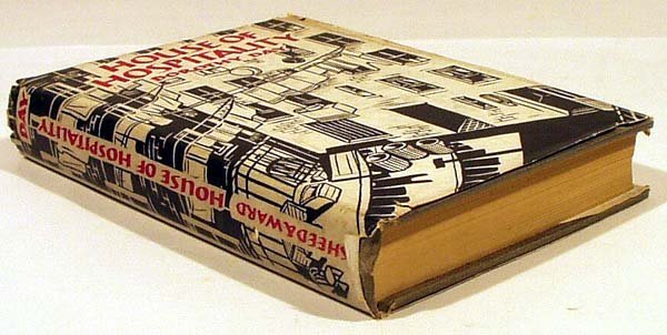 8082: Day HOUSE OF HOSPITALITY 1939 First Printing Dj