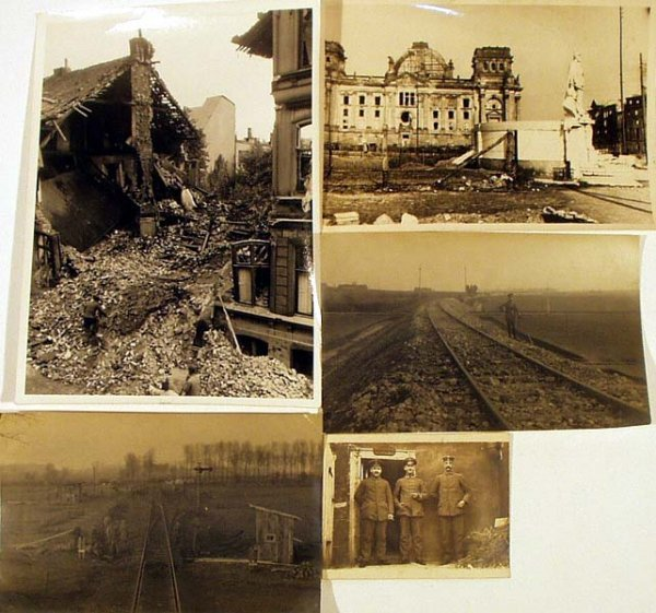 9024: Reichstag VINTAGE & ANTIQUE WORLD WAR PHOTOS RR