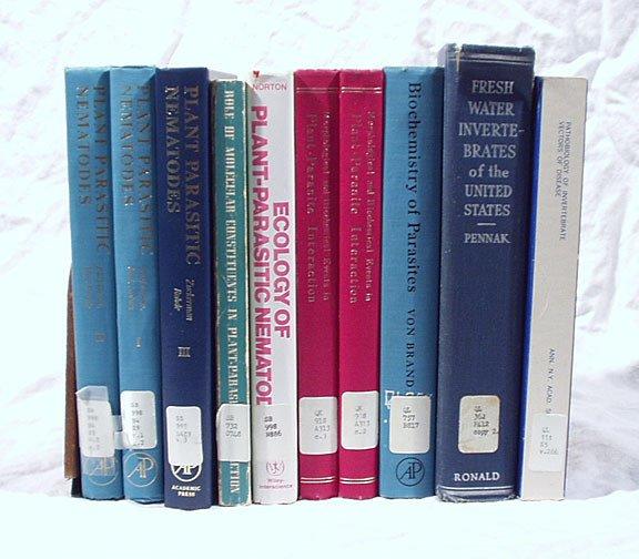 13: Parasites and Invertebrates - 10 volumes
