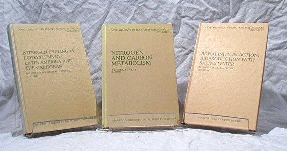 20: Martinus Nijhoff publishing, Developments in Plant