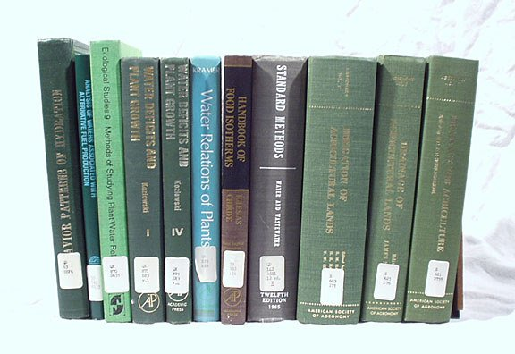 24: Water, Plant Hydration, Irrigation - 10 volumes