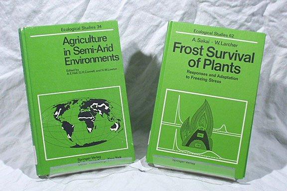 25: Springer-Verlag Ecological Studies Agriculture Fros