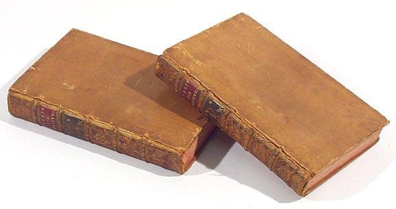 545: Helvetius De L'esprit 1758 Rousseau Harcourt