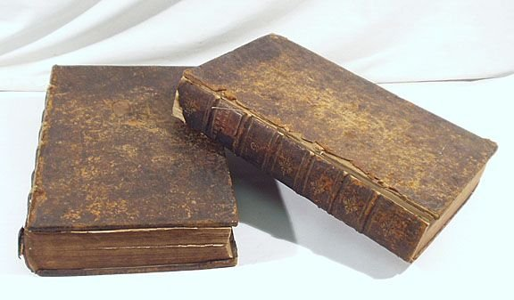 550: Chambers - 2 v. Cyclopaedia 1741