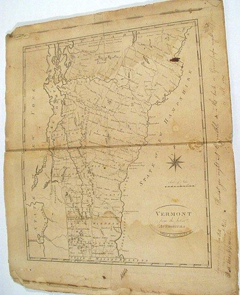 589: 18 Maps of Original US States 1795