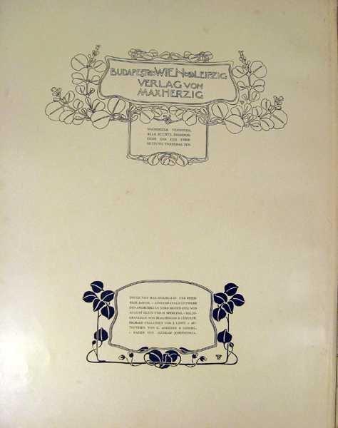 Max Herzig VIRIBUS UNITIS DAS BUCH VOM KAISER 1898 - 3