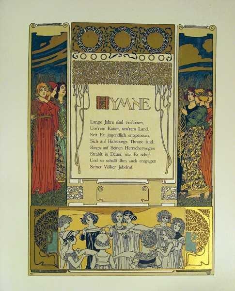 Max Herzig VIRIBUS UNITIS DAS BUCH VOM KAISER 1898 - 7