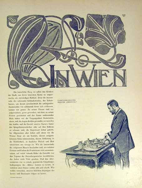 Max Herzig VIRIBUS UNITIS DAS BUCH VOM KAISER 1898 - 8