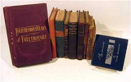 10V De Quincey ANTIQUE PHILOSOPHY & THEOLOGY Quaker
