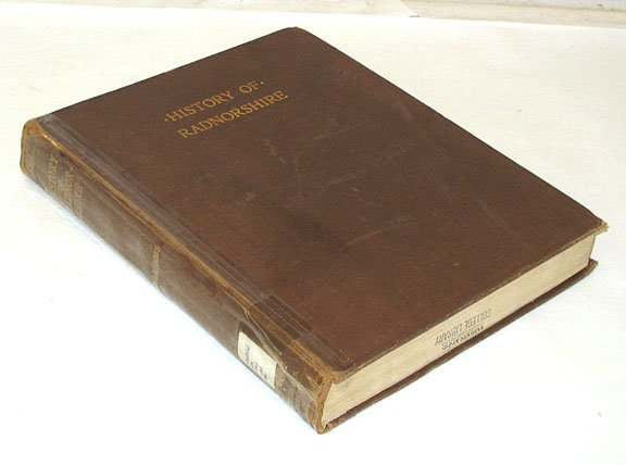 1004: HISTORY COUNTY OF RADNOR Radnorshire Wales 1905