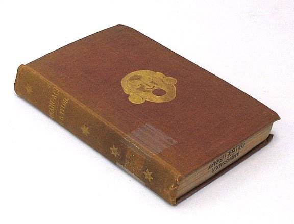 1026: Tylor ANAHUAC Mexico 1861 Author Signed