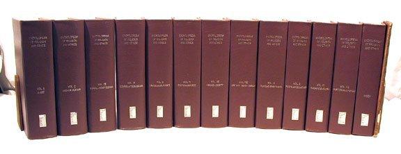 1028: 13v. ENCYCLOPEDIA RELIGION & ETHICS 1908 Prospect